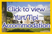 Whitesands Cornwall yurt, tipi's, camping, accommodation family, group, students, school holidays at Sennen in Lands End Cornwall